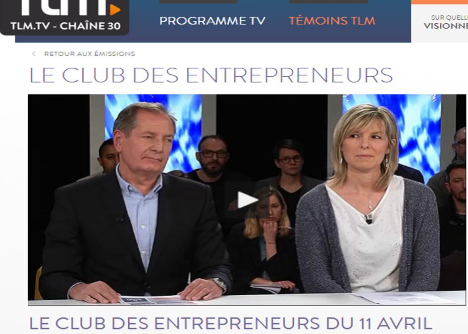 Télé Lyon Métropole : Emission Club des entrepreneurs sur la transformation numérique
