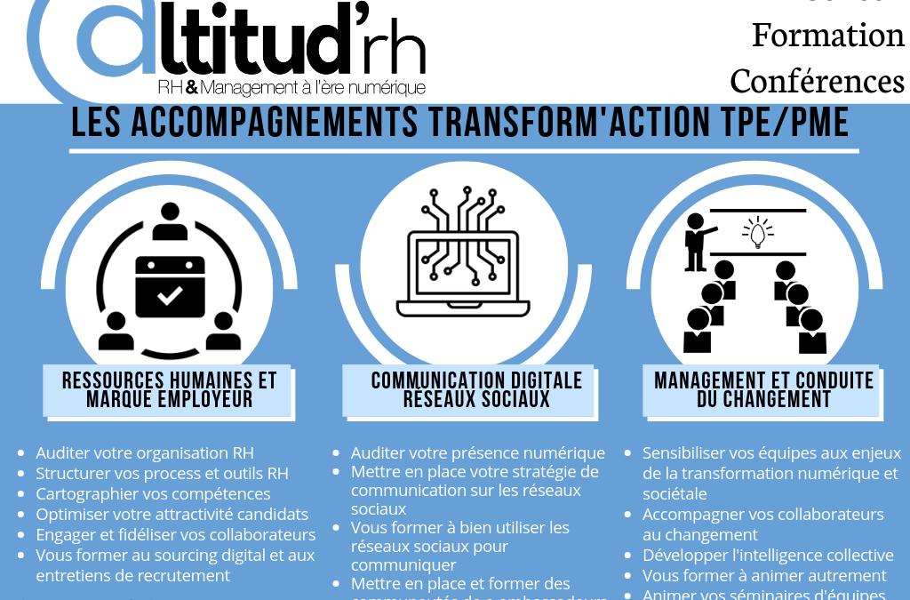Transform'Action, le programme de Transformation Digitale des PME
